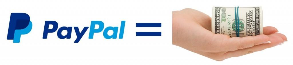 PayPal - платёжная онлайн-система, финансовые операции осуществляются настоящими деньгами