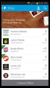 Мобильное приложение PayPal - Android