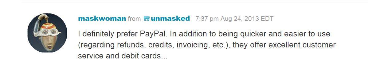 Отзывы продавцов на Этси, которые доказывают, что PayPal удобен