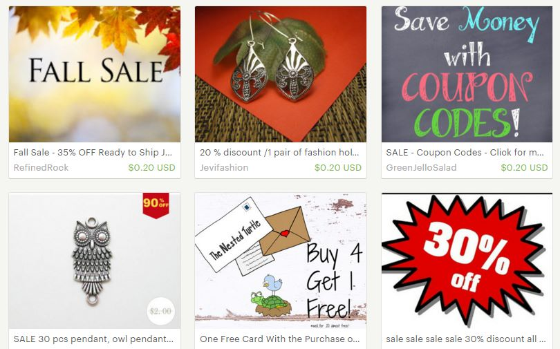 sale-Etsy