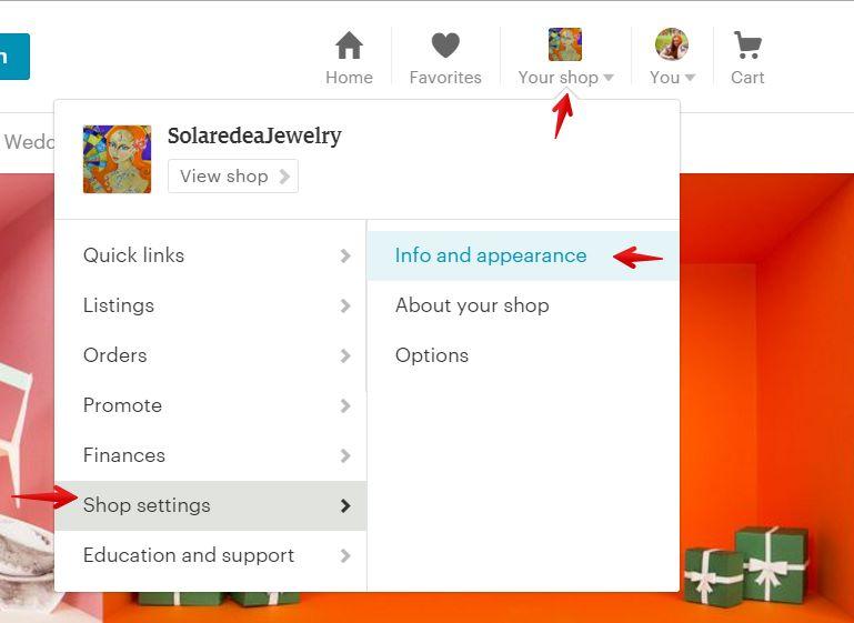 step-1-Etsy-Shop-settings