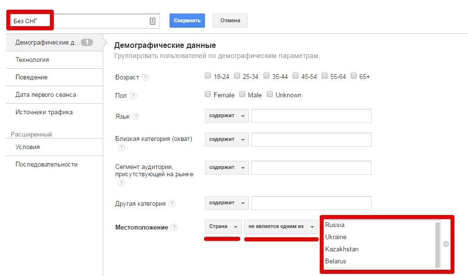 Анализ Google Etsy