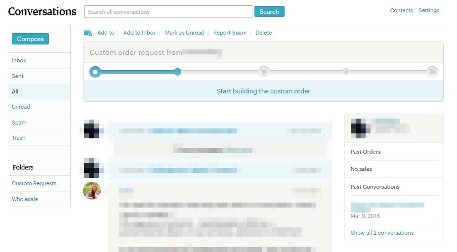 Как создать приватный листинг Etsy