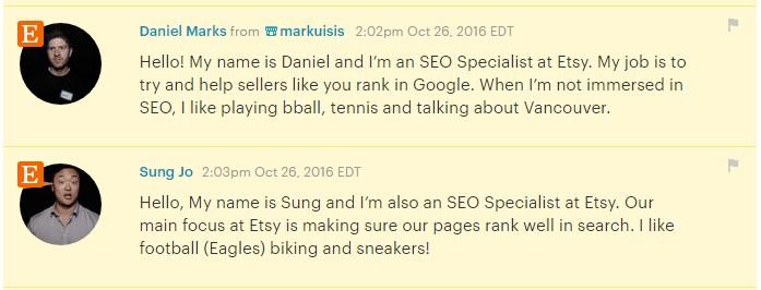 Админы Etsy отвечают на вопросы про SEO продвижение