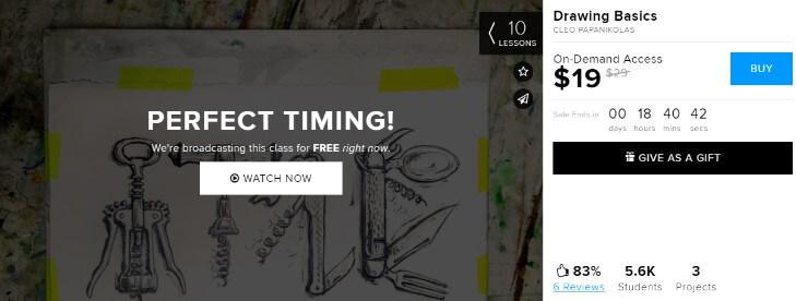 Бесплатные курсы на CreativeLive