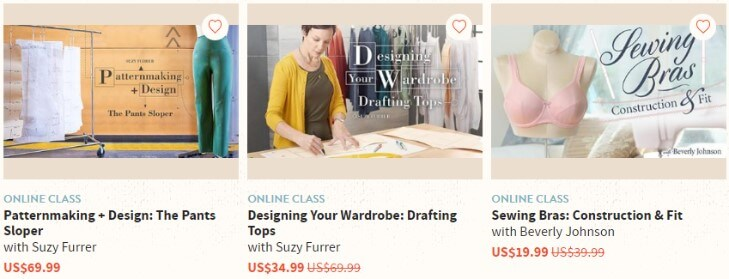 Craftsy примеры курсов