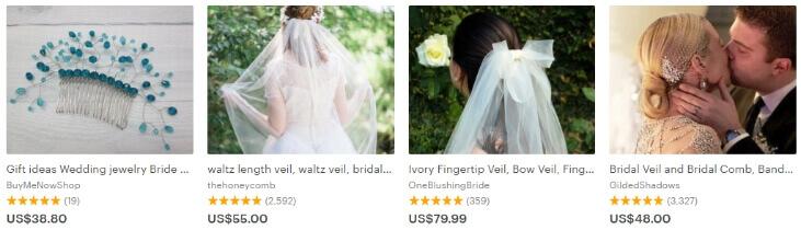 свадебные товары этси