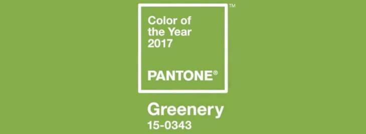 greenery цвет 2017 по версии pantone