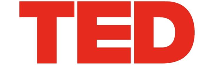 Видео TED логотип