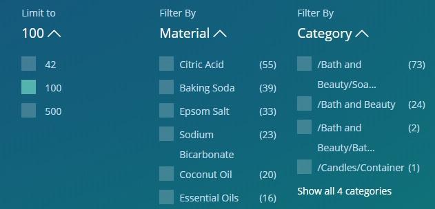 Marmalead - категории товаров