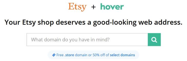 Выбираем домен для Etsy магазина