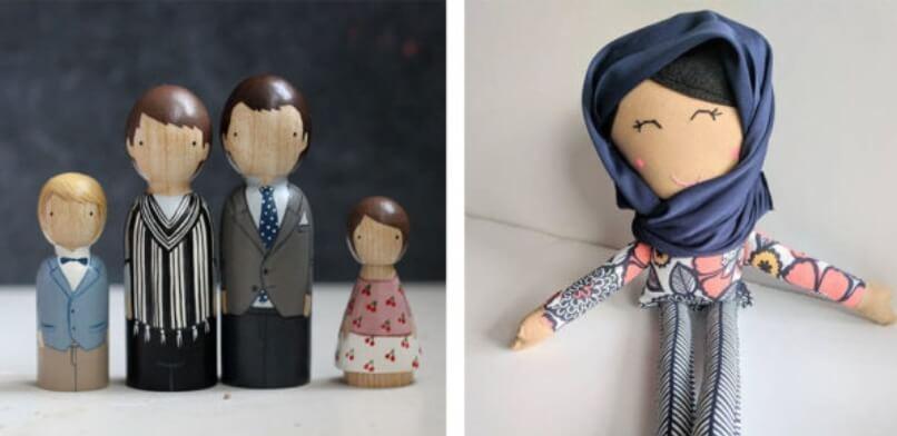 Etsy куклы