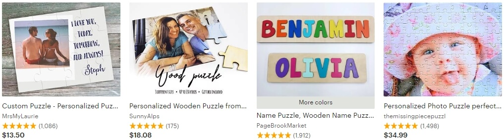 Personalized puzzle _ Etsy