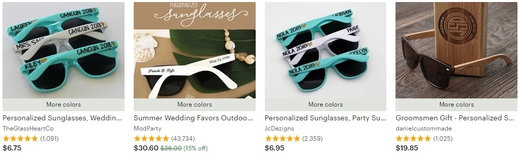 Personalized sunglasses _ Etsy