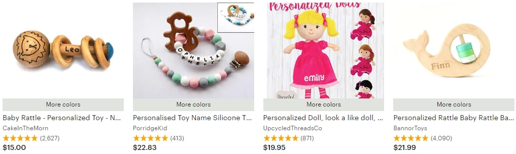 Personalized toys _ Etsy