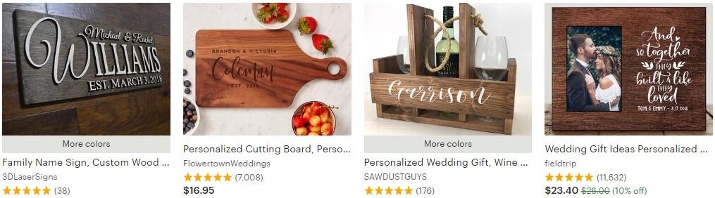 Personalized wedding gift _ Etsy