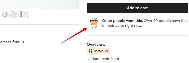 Сколько человек добавило товар в корзину