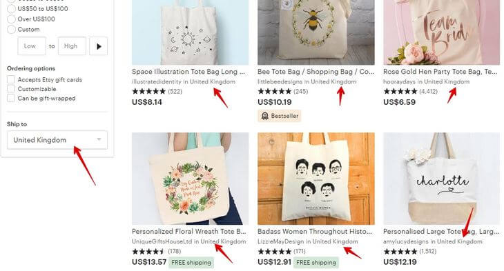 Tote bag _ Etsy UK