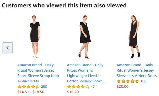 Похожие товары на Amazon