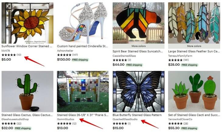 Stained glass Etsy
