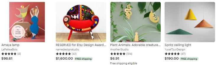 Etsy Design Awards Finalists - Inventive Decor