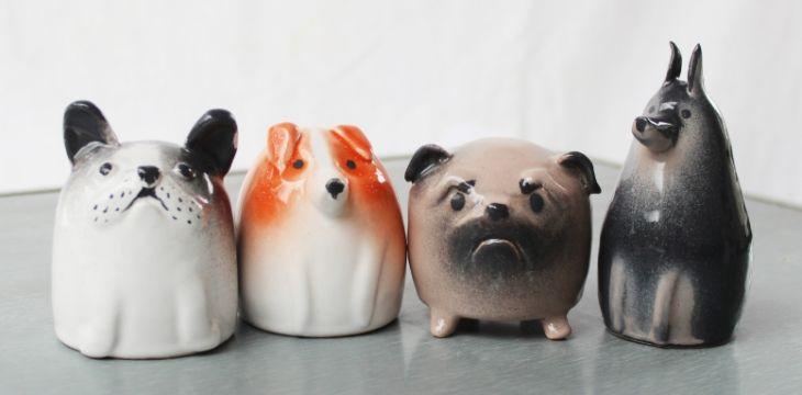 RyabaVoshCeramics - статуэтки собак