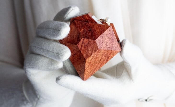 Woodstorming - коробочка под кольцо