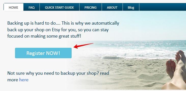 Бэкап Etsy-магазина с помощью Backtsy