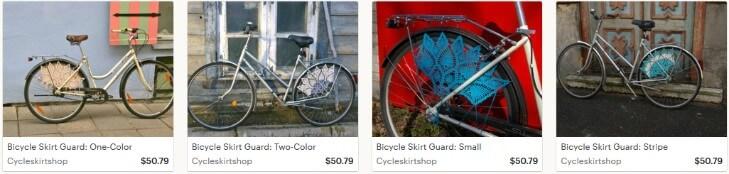 Вязаные товары для велосипеда