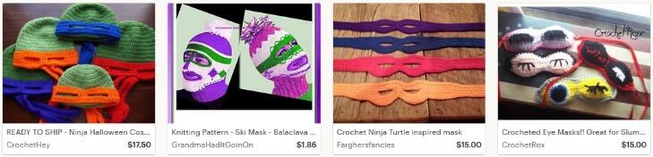 Вязаные маски
