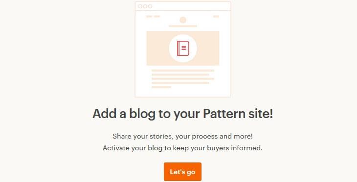 Etsy Pattern вести свой блог
