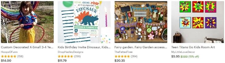 Продавать рукодельные детские товары на Этси