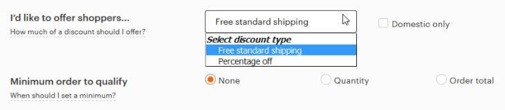 Распродажа с бесплатной доставкой на Etsy