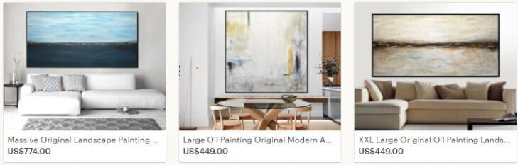 Продажа абстрактных картин