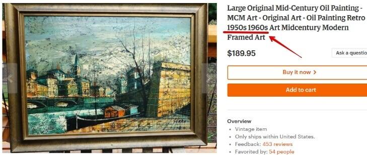 Старинные картины где продать