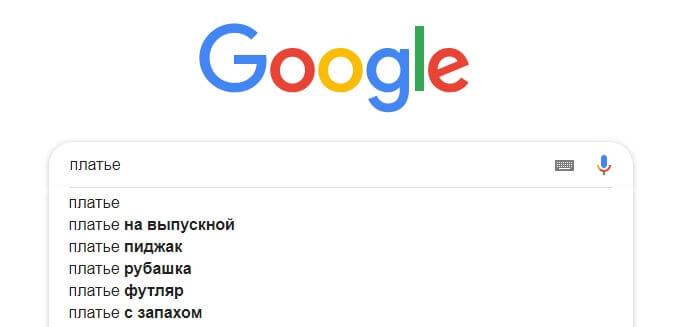 Платье Google
