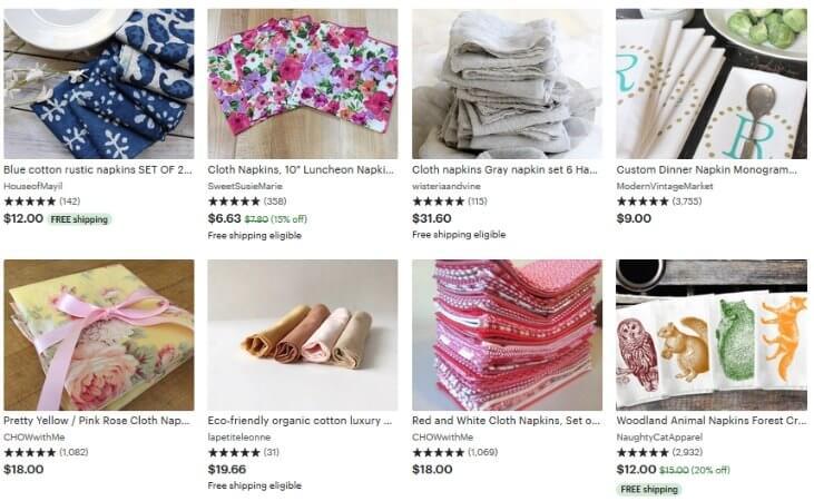 Приоритет товаров с бесплатной доставкой пропадает со второй страницы поиска Etsy