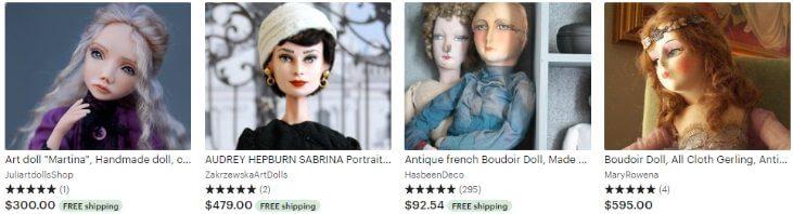 Будуарные куклы - Boudoir dolls - Etsy