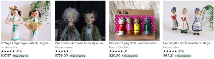 Деревянные куклы - Wooden dolls - Etsy