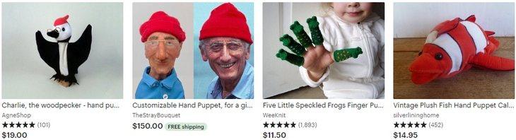 Куклы для кукольного театра - Puppet - Etsy