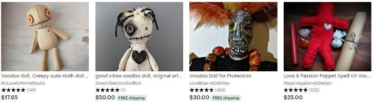 Куклы вуду - Voodoo doll - Etsy