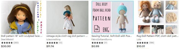 Мастер-классы по созданию кукол - Doll patterns - Etsy