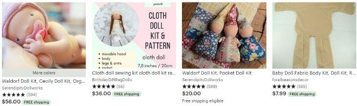 Наборы для создания кукол - Doll kit