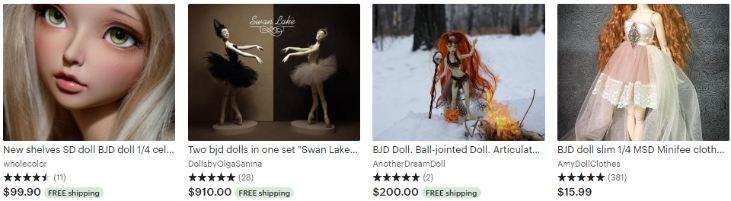 Шарнирные БЖД куклы - Bjd dolls - Etsy