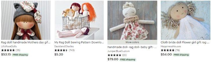 Тряпичная кукла - Rag doll - Etsy