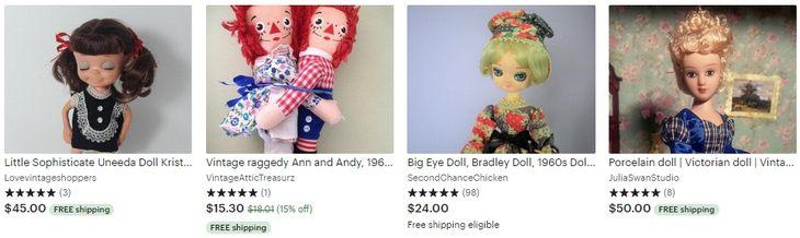 Винтажные куклы - Vintage dolls - Etsy