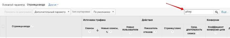 GoogleАналитика - найти переходы по рекламе