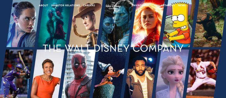 Чем владеет Disney