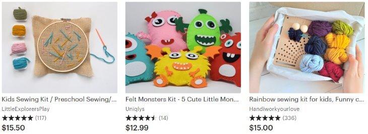 Kids sewing kits _ Etsy