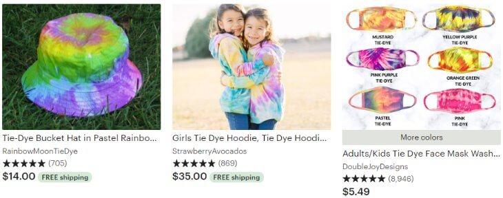 Tie-dye kids _ Etsy